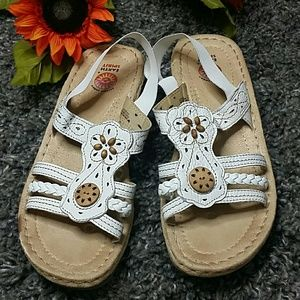 Earth spirit leather sandals 10
